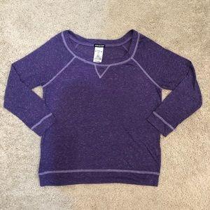 Joe Boxer Purple Long Sleeve Top, Size M